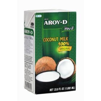 Lait de coco Aroy-D en brique (1 L)
