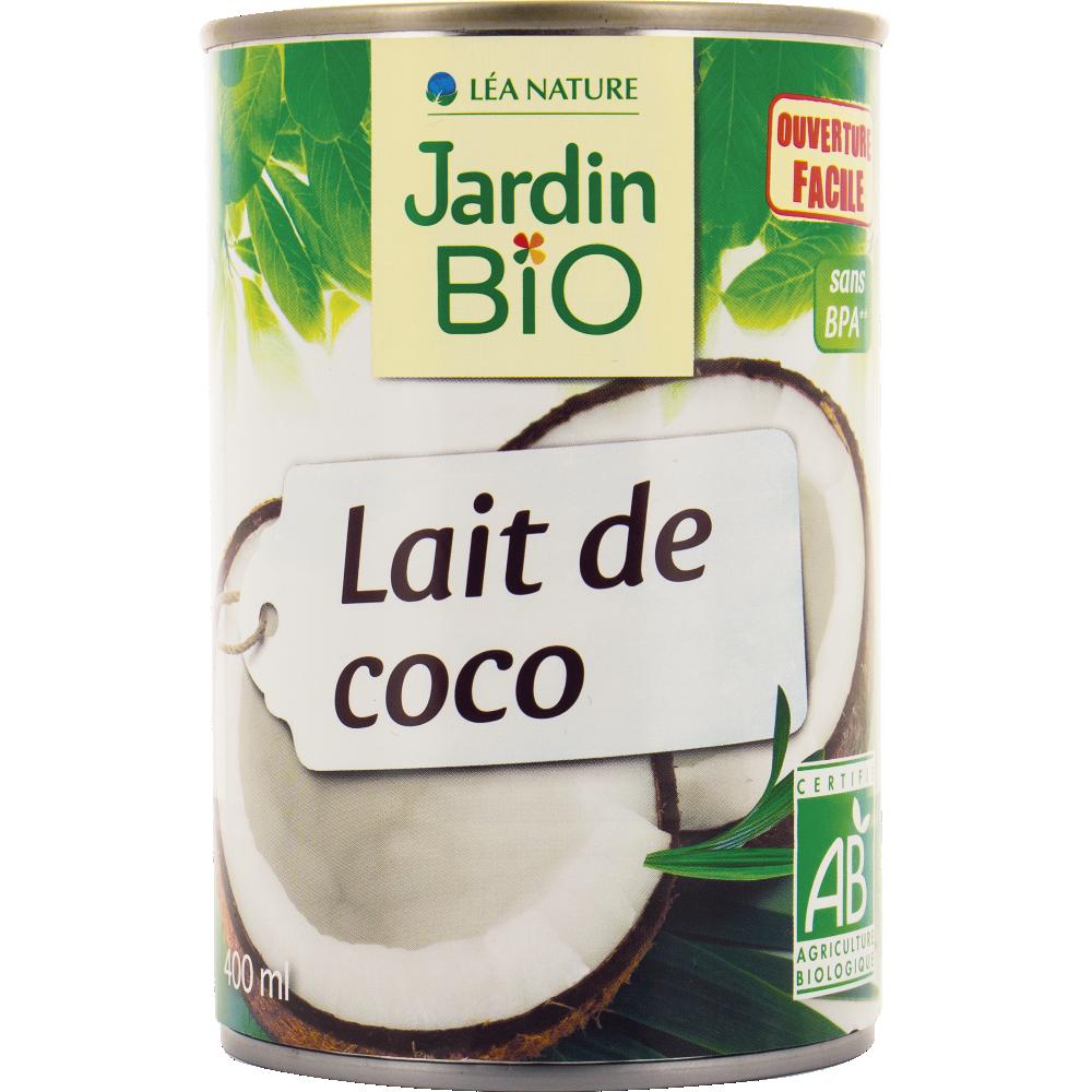 Lait de coco BIO, Jardin Bio (400 ml)