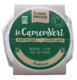 Le CamemVert Nature, Tomm' Pousse (120 g)