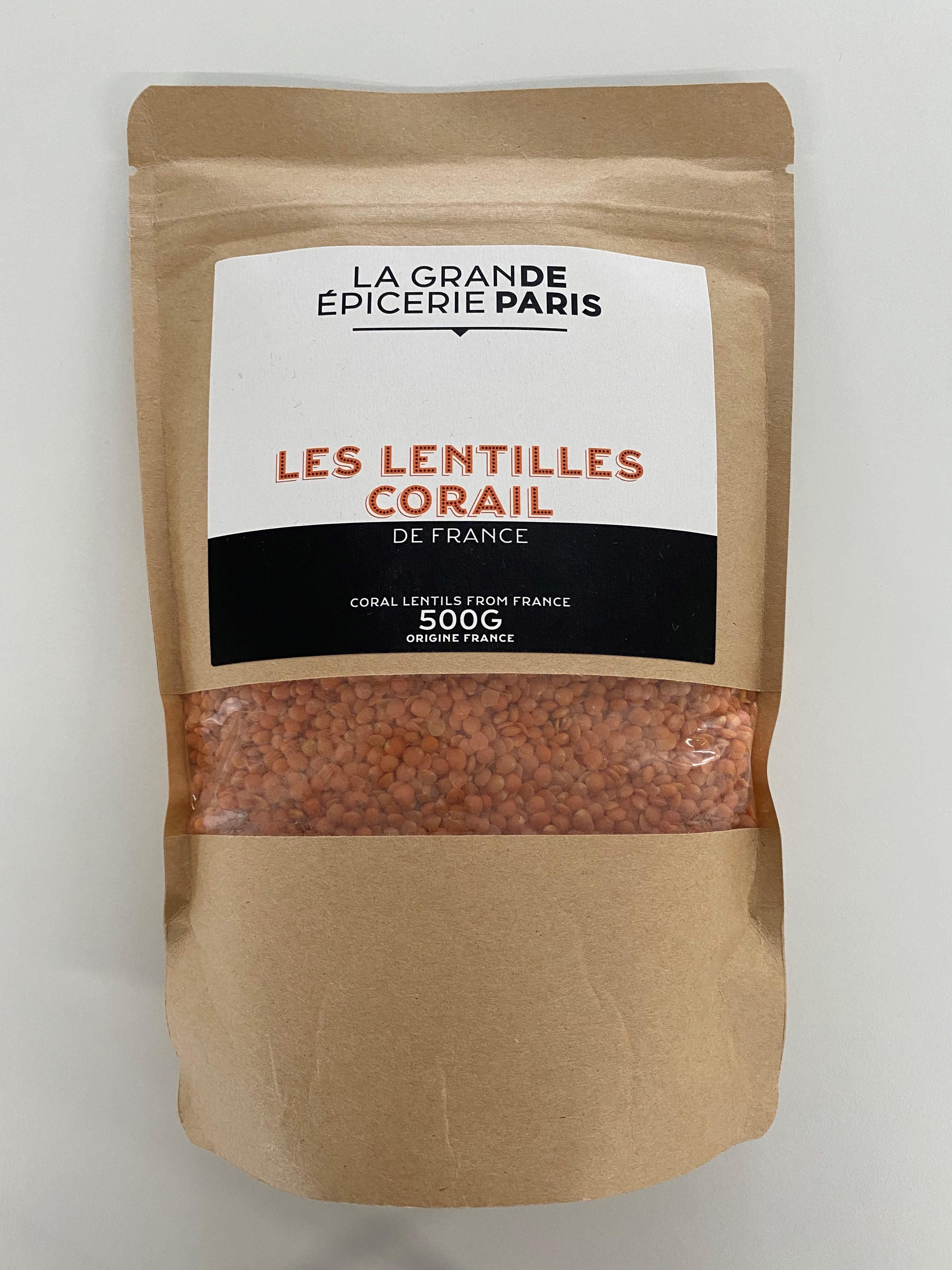 Lentilles corail, La Grande Epicerie de Paris (500 g)