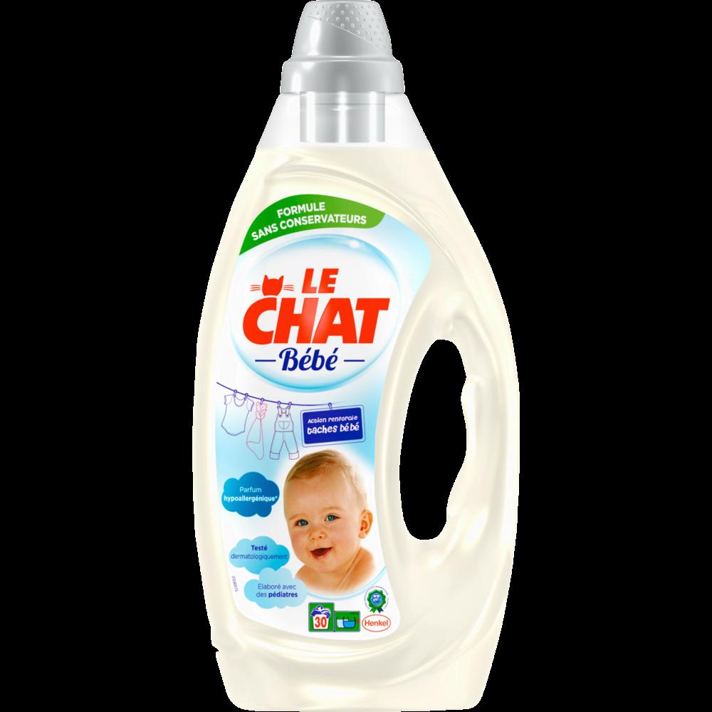 Lessive bébé, Le Chat (1,60 L = 30 lavages)