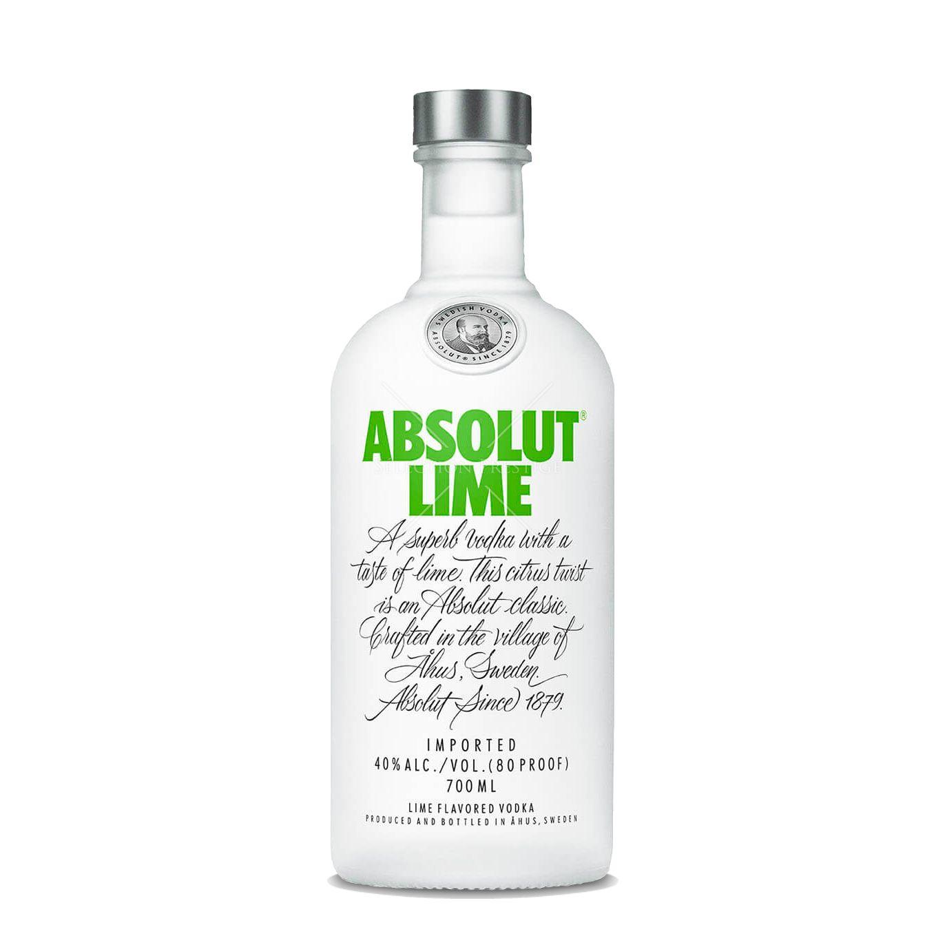 Vodka Absolut Lime (70 cl)