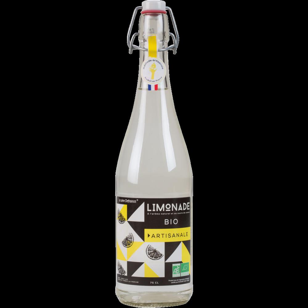 Limonade artisanale BIO, Le Père Defrance (75 cl)