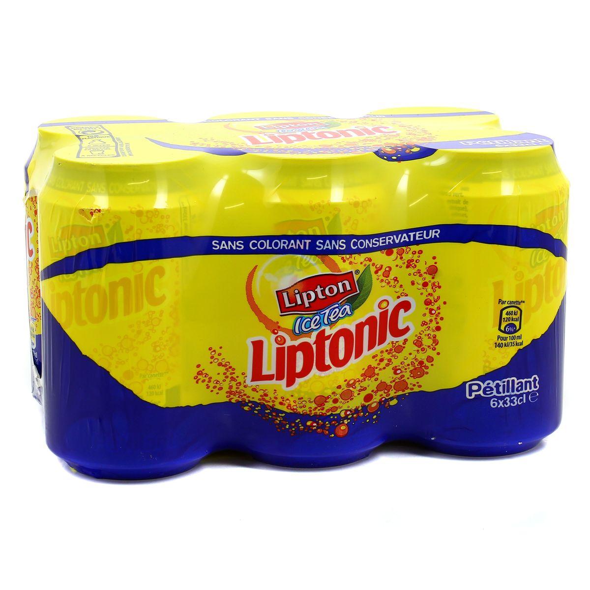 Pack de Liptonic (6 x 33 cl)