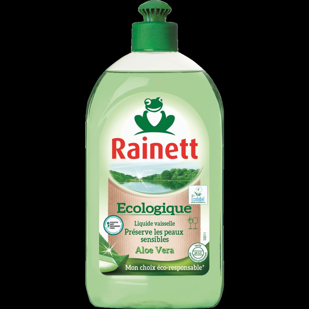 Liquide vaisselle main aloe vera Ecolabel, Rainett (500 ml)
