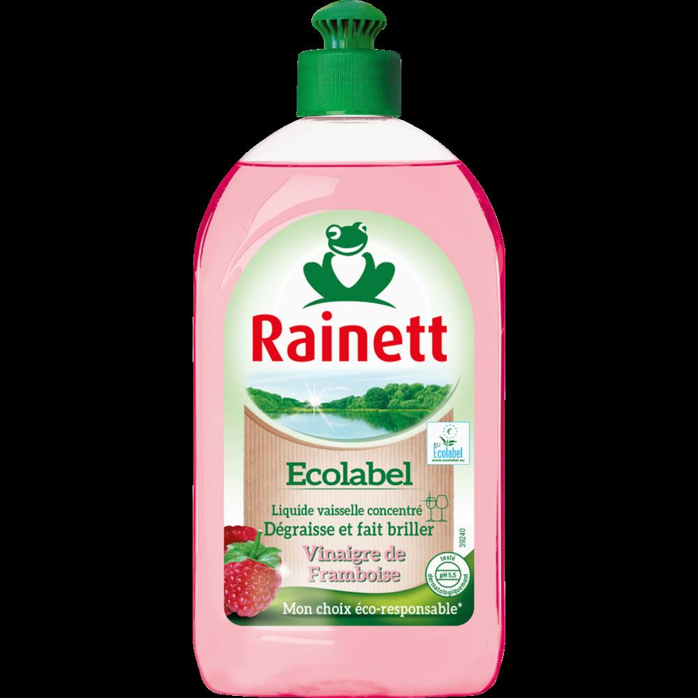 Liquide vaisselle vinaigre de framboise, Rainett (500 ml)