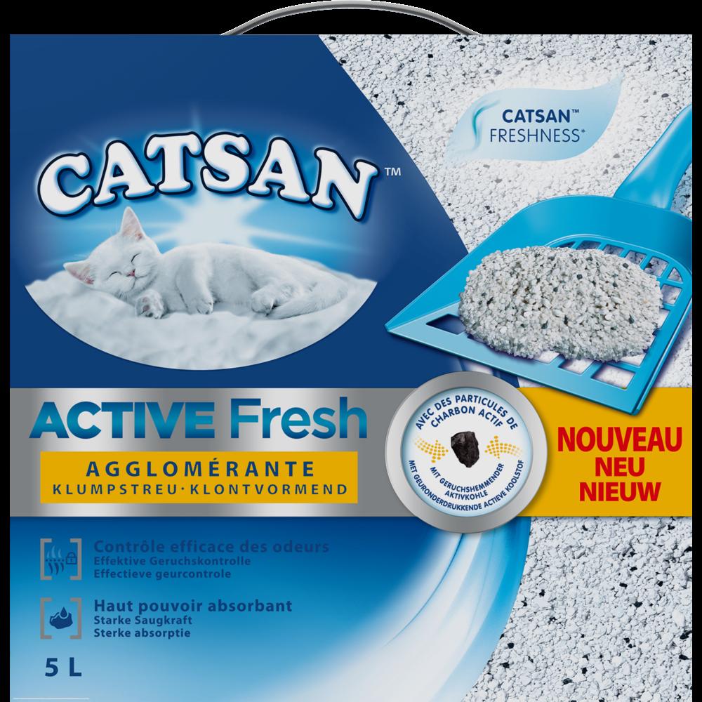 Litière pour chat Active Fresh, Catsan (5 L)