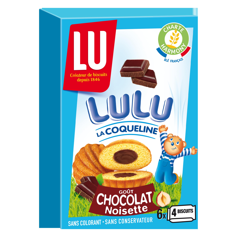 Lulu Coqueline au chocolat, Lu (165 g)