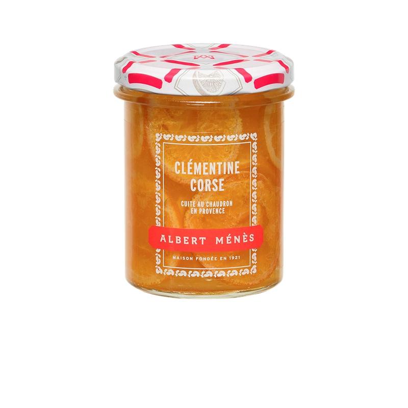 Marmelade de Clémentine Corse en tranches, Albert Ménès (280 g)
