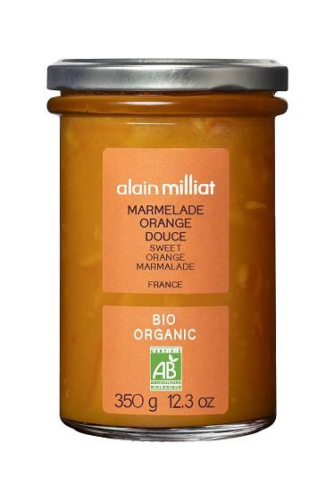 Marmelade Orange Douce BIO, Alain Milliat (350 g)