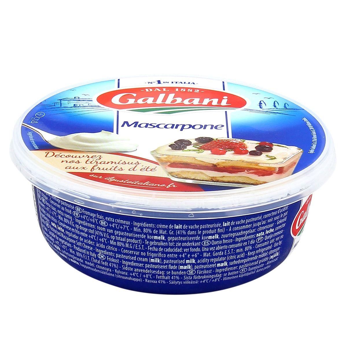 Mascarpone, Galbani (250 g)