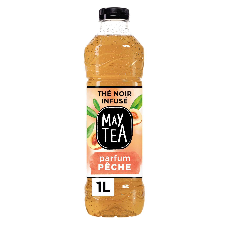 May Tea thé noir parfum pêche blanche (1 L)