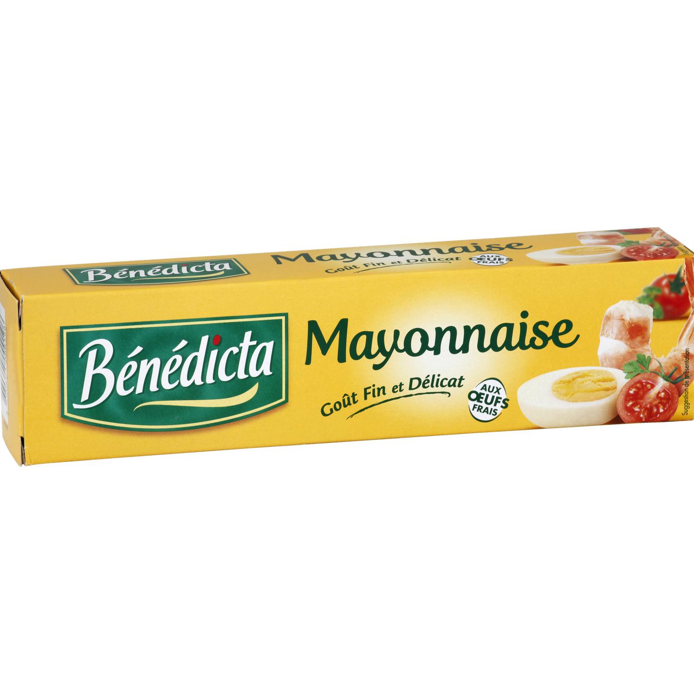 Mayonnaise en tube, Bénédicta (175 g)