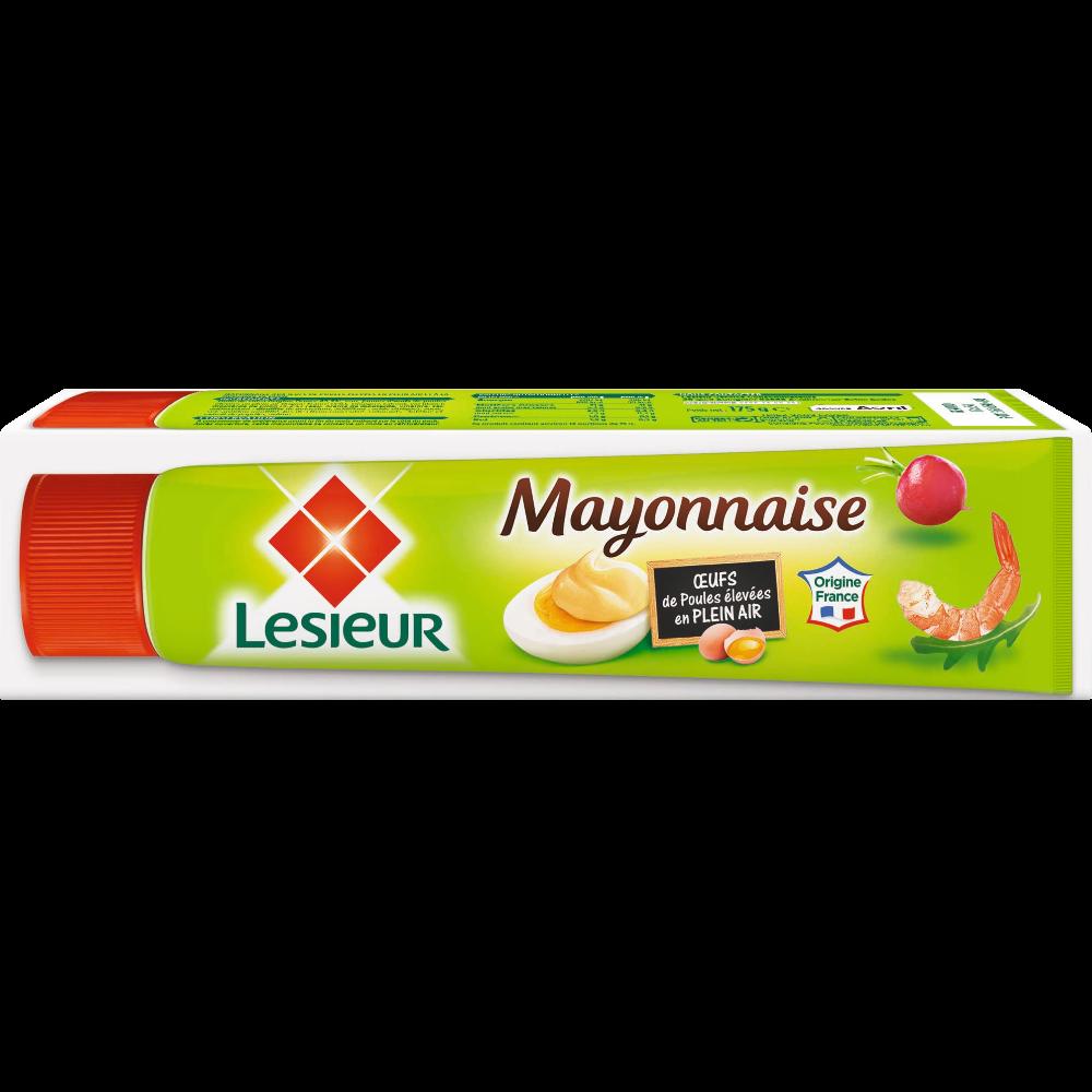 Mayonnaise aux oeufs frais en tube, Lesieur (175 g)