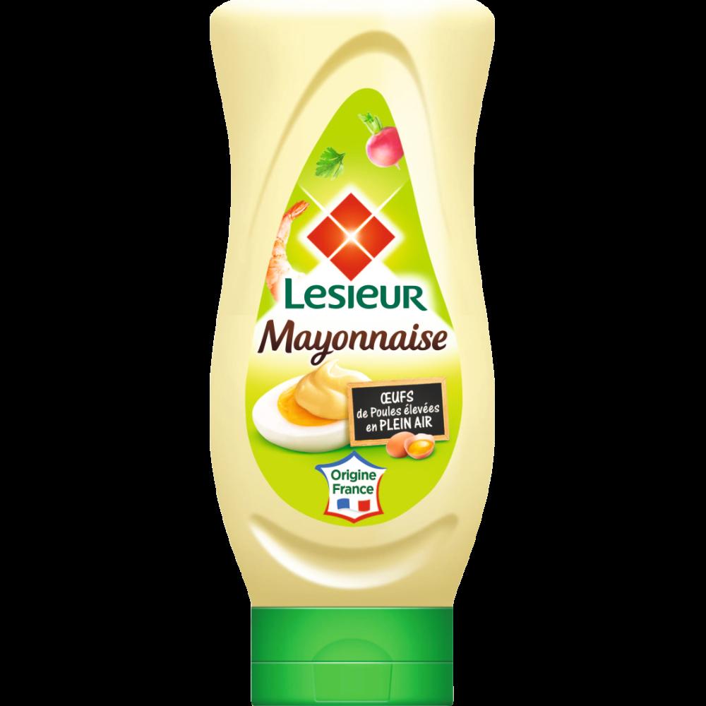Mayonnaise classique flacon souple, Lesieur (425 g)