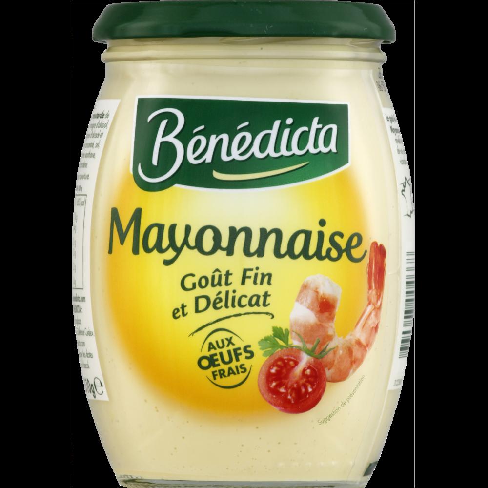 Mayonnaise nature, Benedicta (510 g)