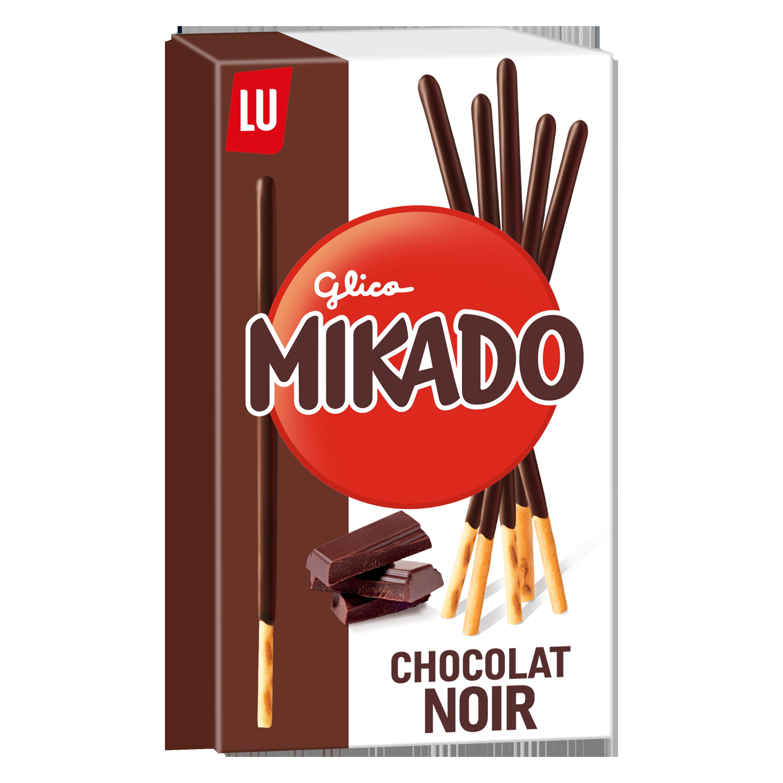 Mikado Chocolat noir, Lu (90 g)