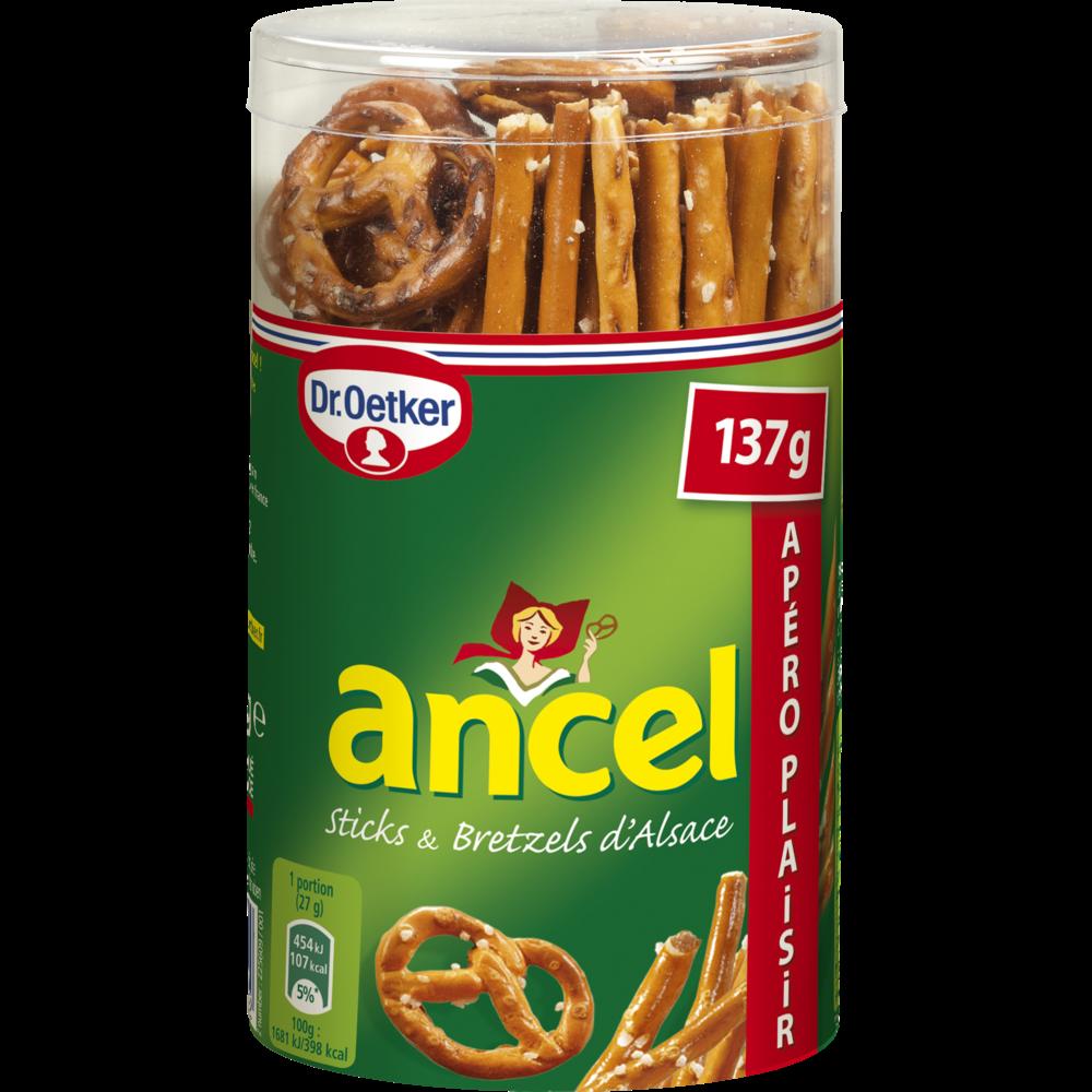Mini assortiment sticks & bretzels d'Alsace, Dr Oetker (137 g)
