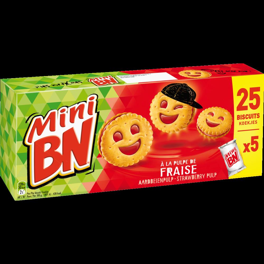 Mini BN à la fraise (175 g)