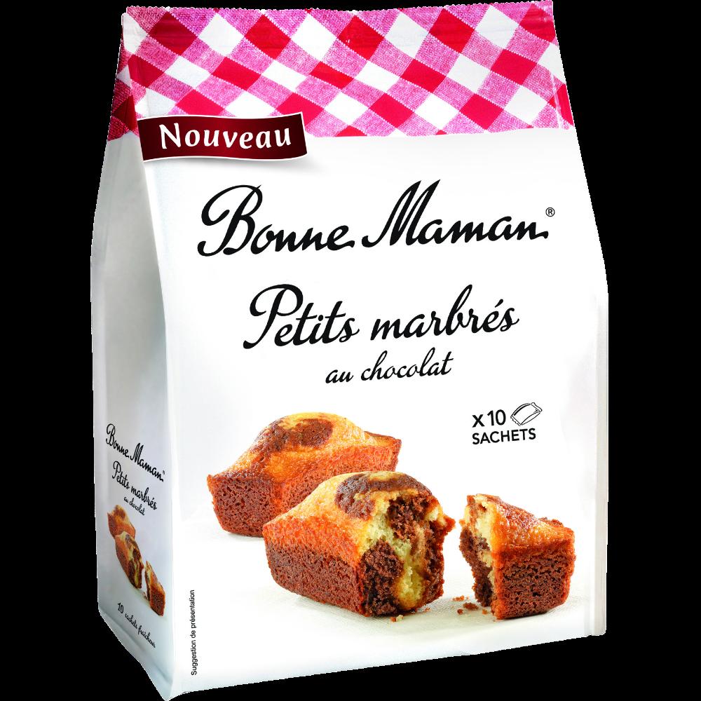 Mini marbrés au chocolat, Bonne Maman (x 10, 300 g)