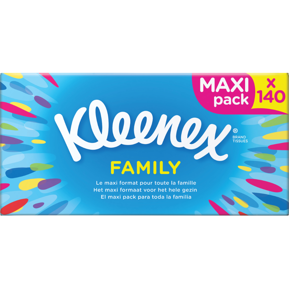 Boite de mouchoirs blancs maxi, Kleenex (x 140)