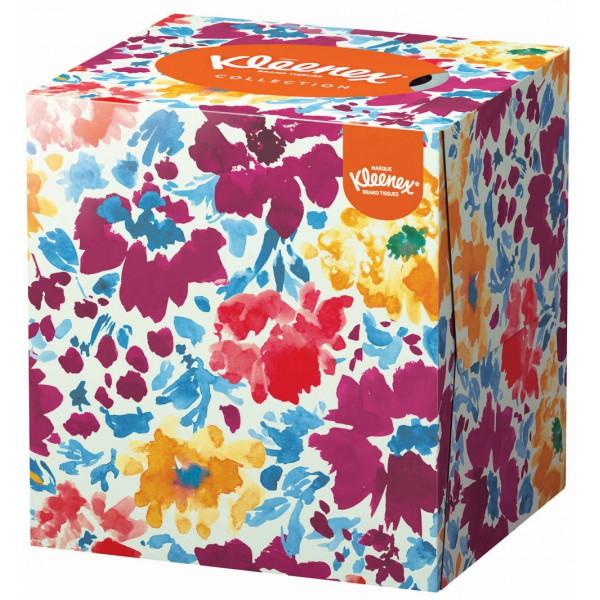 Boite de mouchoirs cube, Kleenex Collection