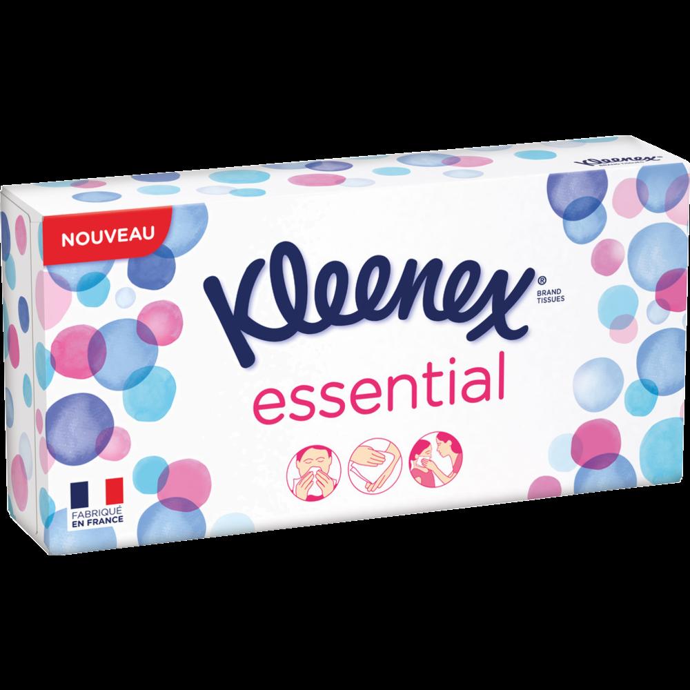 Boite de mouchoirs essential, Kleenex (x 80)