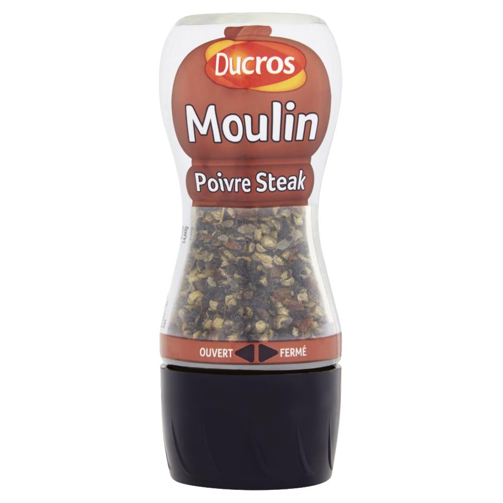 Moulin poivre pour steak, Ducros (35 g)