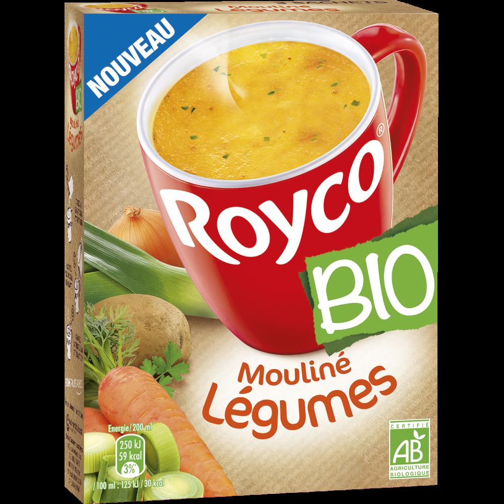 Mouliné instantané de légumes BIO, Royco (54 g)