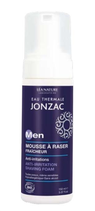 Mousse à raser anti-irritations For men, Eau thermale Jonzac (150 ml)