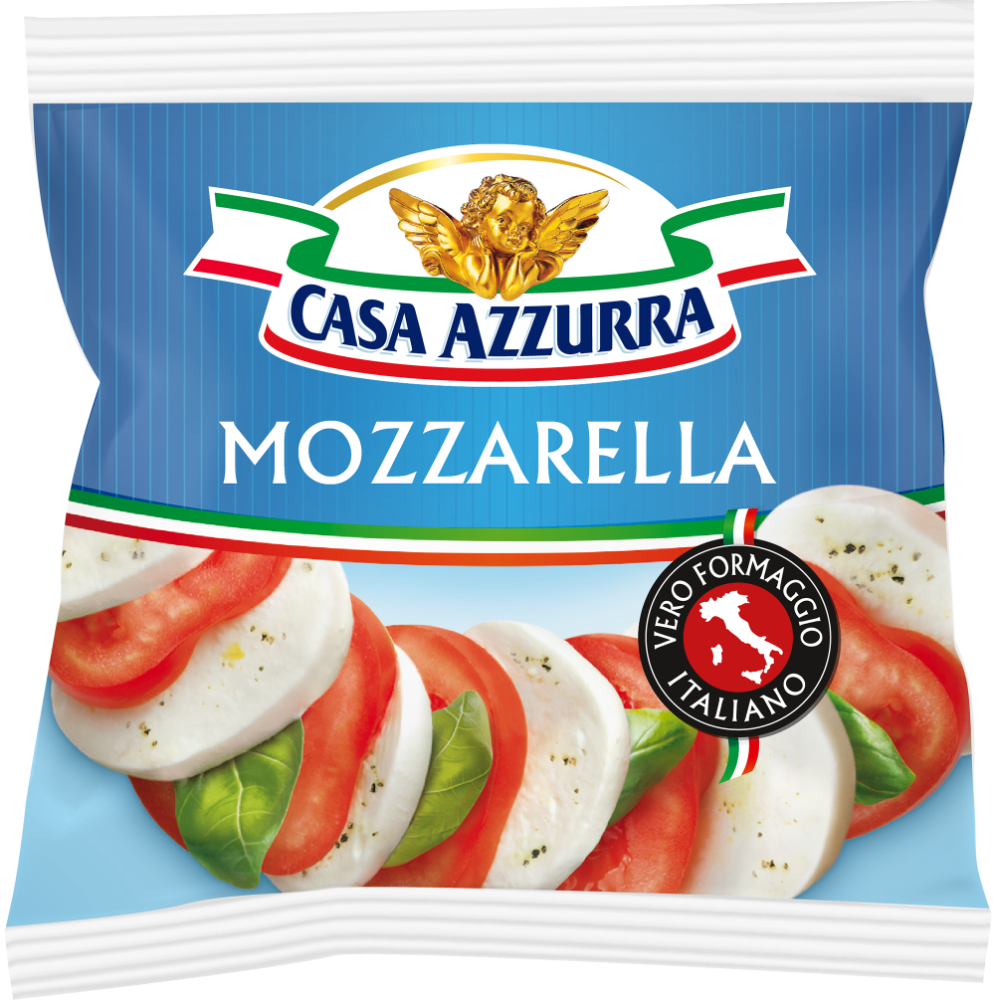 Mozzarella au lait pasteurisé, Casa Azzurra (125 g)