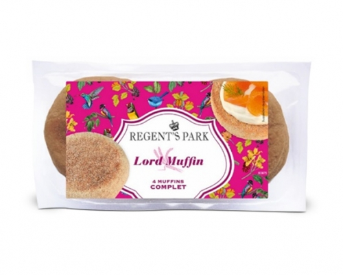 English Muffins complets aux 7 graines, Regent's Park (x 4, 250 g)