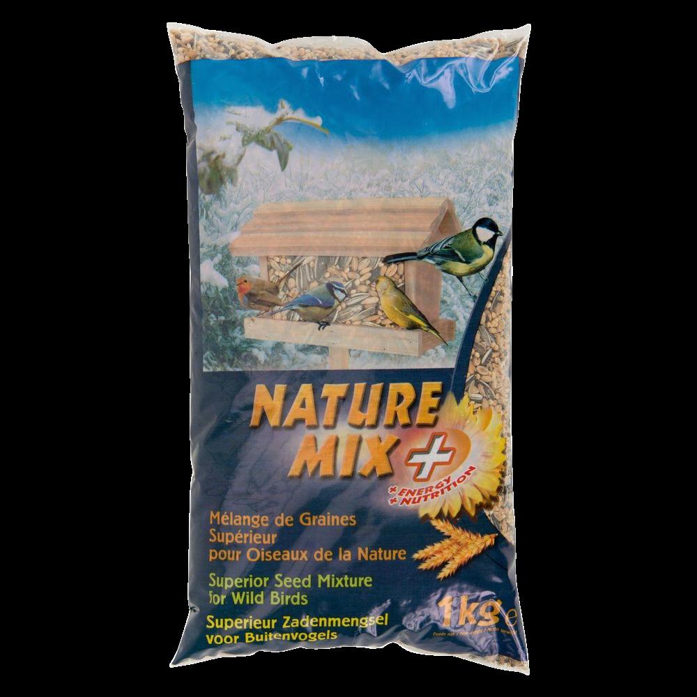 Graine à oiseaux Nature mix +, Aime (1 kg)