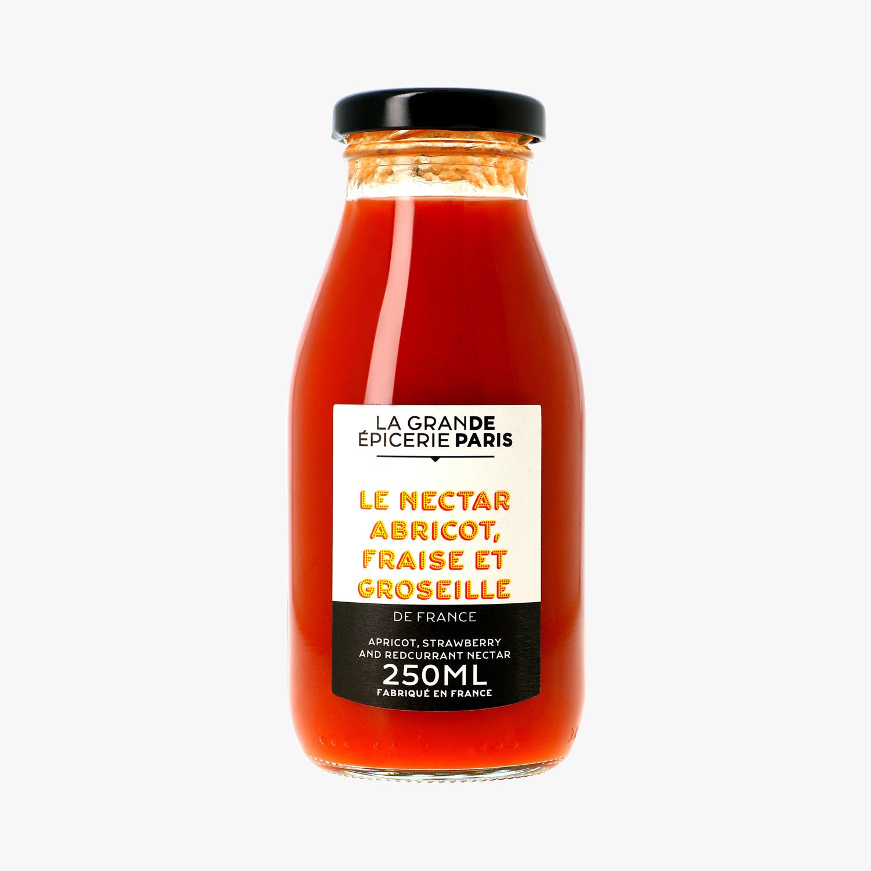 Nectar de fraise, abricot et groseille, La Grande Epicerie de Paris (25 cl)