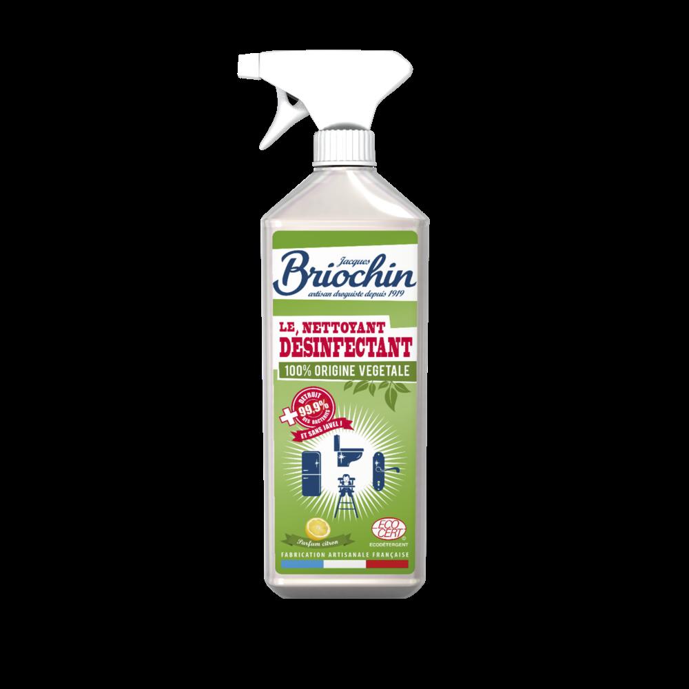Le nettoyant désinfectant 100% origine végétale, Briochin (750 ml)