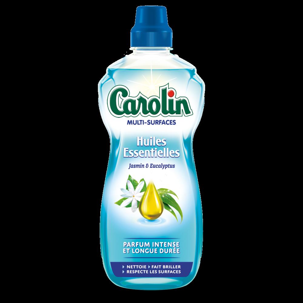 Nettoyant multi-surfaces aux huiles essentielles de jasmin & eucalyptus, Carolin (1 L)
