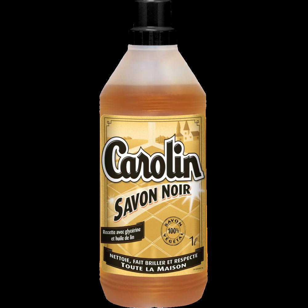 Nettoyant pour sols au savon noir, Carolin (1 L)