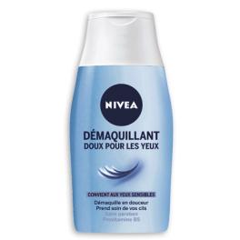 Démaquillant doux pour les yeux, Nivea (125 ml)