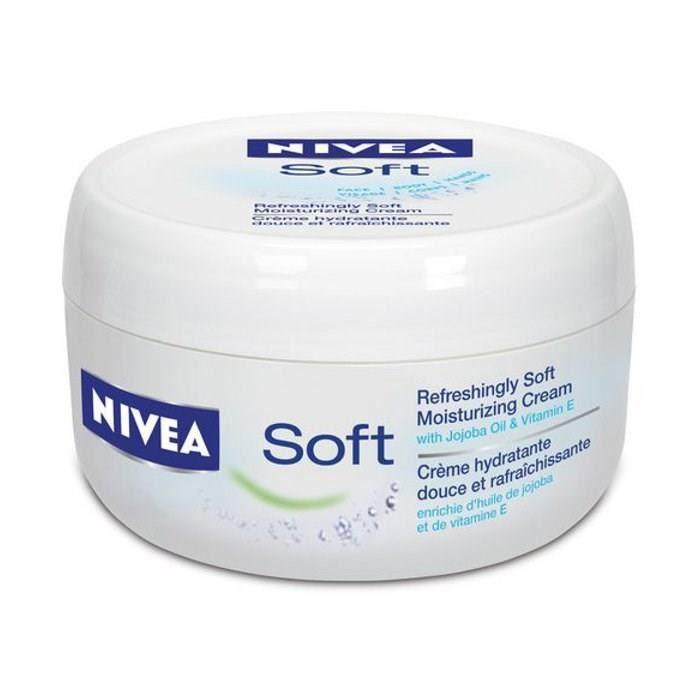 Crème pour visage et corps Soft, Nivea (200 ml)