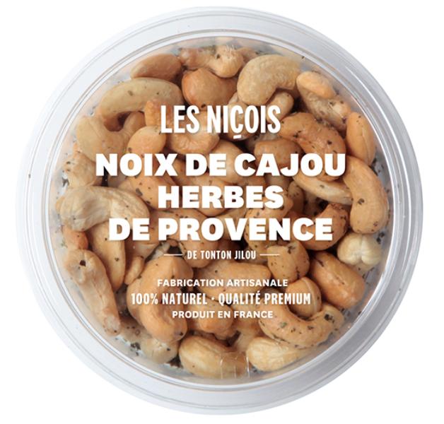 Noix de cajou herbes de Provence de Tonton Jilou, Les Niçois (110 g)