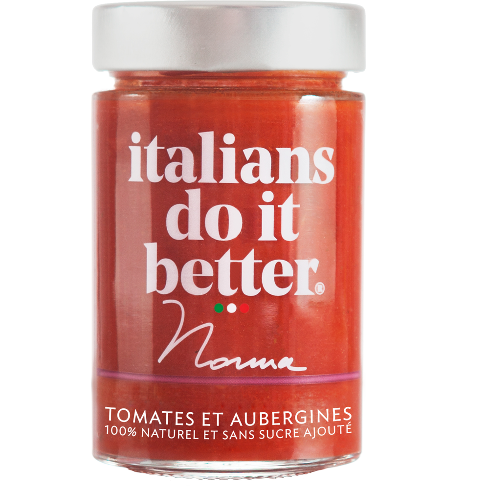 Sauce tomate et aubergine Norma, Italians do it better (190 g)