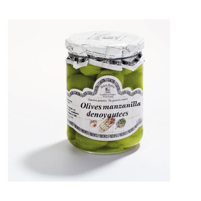 Olive Manzanilla dénoyautées, Bellota-Bellota (420 g)