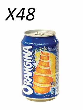 Pack d'Orangina 33 cl (x 48)