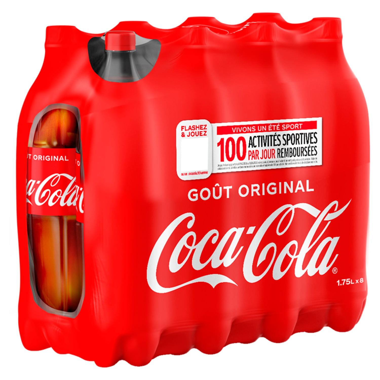 Pack de Coca-Cola (8 x 1.75 L)