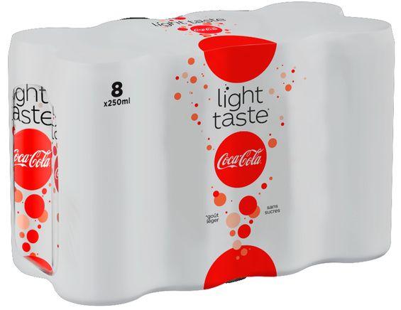 Pack de Coca-Cola light Taste (8 x 25 cl)