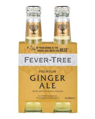 Pack de Ginger Ale, Fever Tree (4 x 20 cl)
