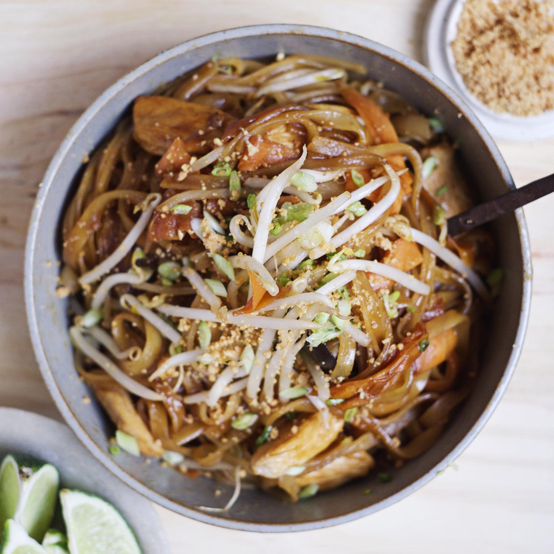 Pad Thaï au poulet fermier (450 g)