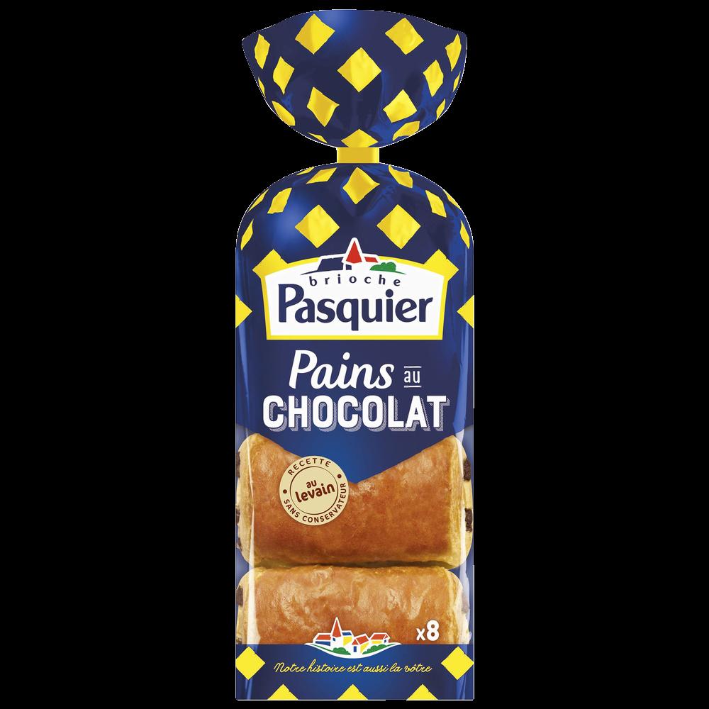 Pain au chocolat, Pasquier (x 8, 360 g)