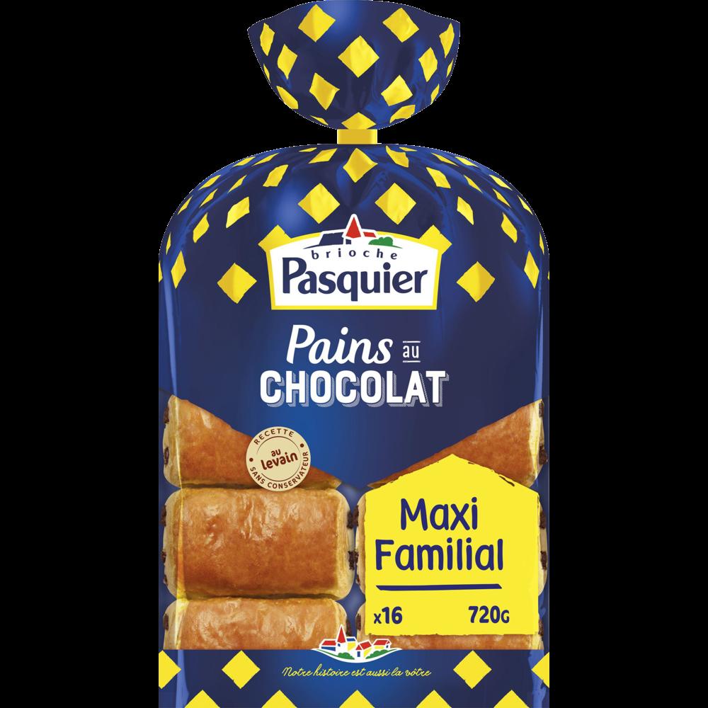 Pain au chocolat, Pasquier (x 16, 720 g)