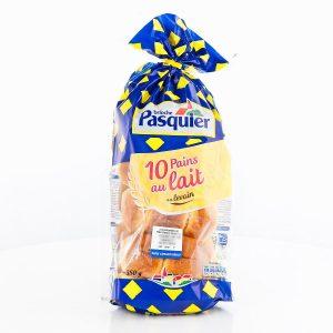 Pain au lait, Pasquier (x 10, 350 g)